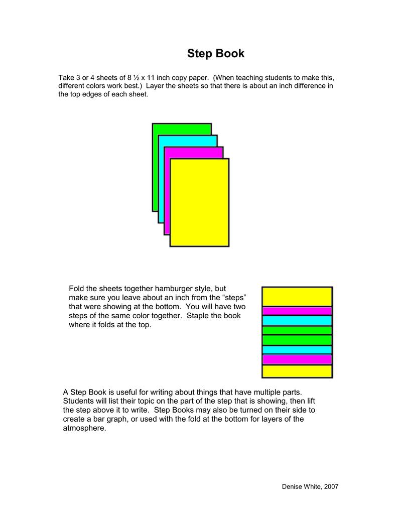 Step Book
