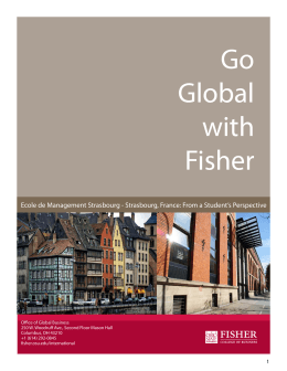 Go Global with Fisher