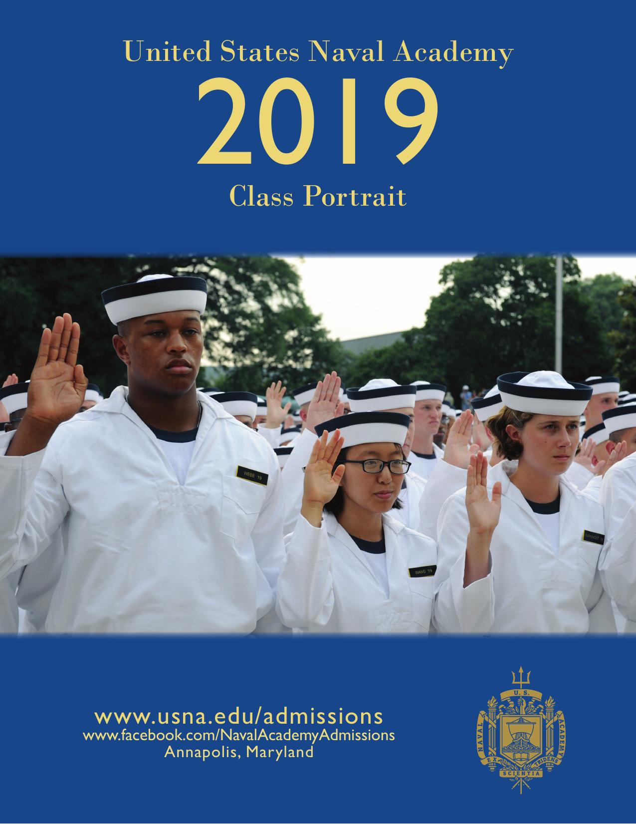 2019 United States Naval Academy Class Portrait www usna edu