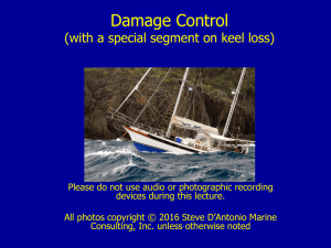 Damage Control (with a special segment on keel loss)