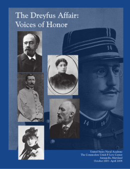 The Dreyfus Affair: Voices of Honor 1