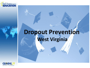 Dropout Prevention West Virginia