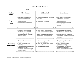 Sample infographic rubric brochure pronofoot35fo Images