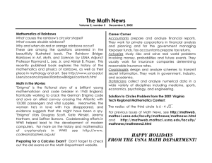 The Math News