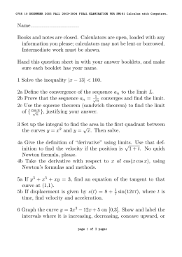 math 1210 quiz outline Students must have either completed math 30-1 successfully or be concurrently completing math 30-1 attendance: all classes are important, whether we are doing a lesson, activity, quiz, test or review.