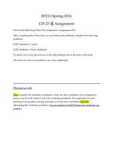 SP212‐Spring‐2016  CH‐27‐A Assignment