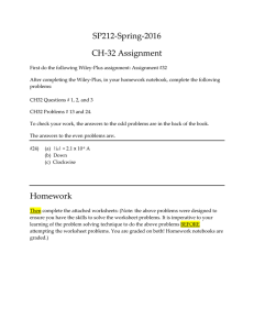SP212‐Spring‐2016  CH‐32 Assignment