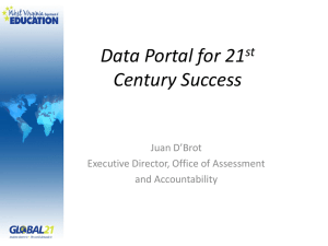 Data Portal for 21 Century Success st Juan D'Brot