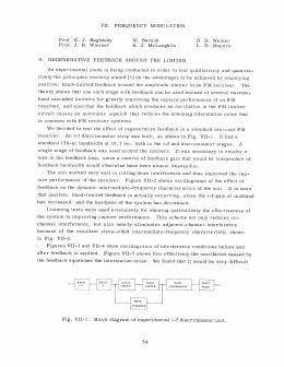 VII. FREQUENCY  MODULATION Prof.  E.  J.  Baghdady