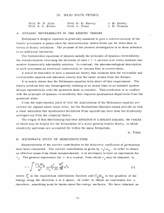 III. SOLID  STATE  PHYSICS