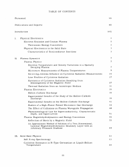 TABLE  OF  CONTENTS vii Personnel xii
