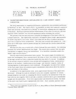 VIII. PHYSICAL  ACOUSTICS