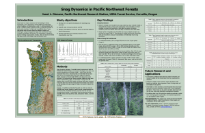Snag Dynamics in Pacific Northwest Forests