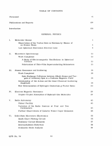 TABLE  OF  CONTENTS xiv Publications  and  Reports Introduction