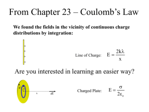 From Chapter 23 – Coulomb's Law  2k