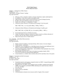 review sheet exam 1