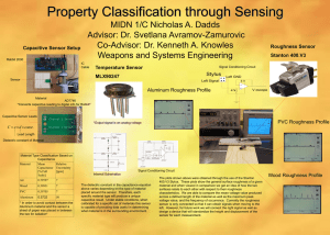 Property Classification through Sensing