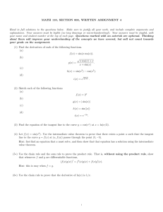 MATH 110, SECTION 003, WRITTEN ASSIGNMENT 4