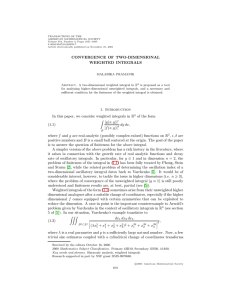 TRANSACTIONS OF THE AMERICAN MATHEMATICAL SOCIETY Volume 354, Number 4, Pages 1651–1665
