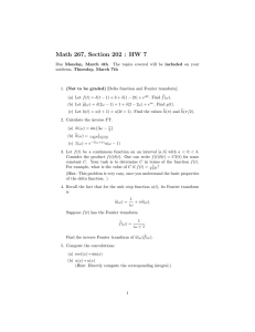 Math 267, Section 202 : HW 7