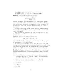 MATH 110 TERM 2 ASSIGNMENT 4