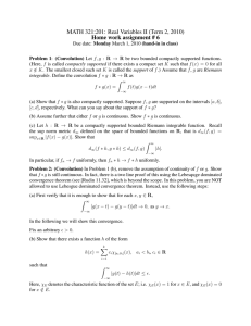 MATH 321:201: Real Variables II (Term 2, 2010)