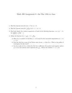 Math 300 Assignment 8: due Mar 18th in class