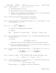 December 2005 MATH 217 UBC ID: Page 2 of 11 pages