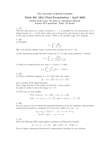 Math 301 (201) Final Examination - April 2005