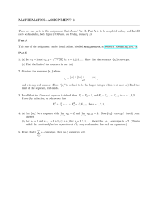 MATHEMATICS: ASSIGNMENT 6