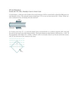 SP 212 Worksheet