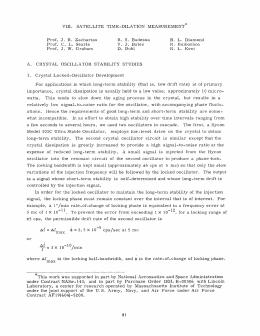 VIII. SATELLITE  TIME-DILATION  MEASUREMENT* R.  S.  Badessa