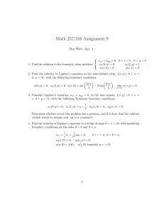 Math 257/316 Assignment 9 Due Wed. Apr. 1