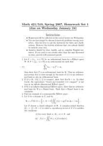 Math 421/510, Spring 2007, Homework Set 1 Instructions