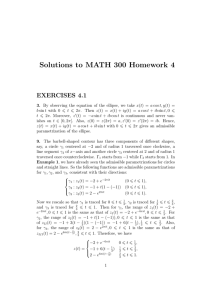 Solutions to MATH 300 Homework 4 EXERCISES 4.1