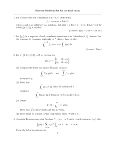 Practice Problem Set for the final exam