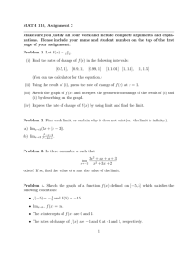 MATH 110, Assignment 2