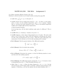 MATH 215/255 Fall 2014 Assignment 2