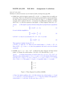 MATH 215/255 Fall 2014 Assignment 3 solutions