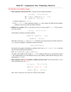 Math 257 – Assignment 8. Due: Wednesday, March 16