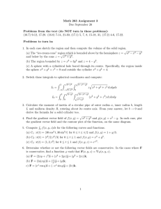 Math 263 Assignment 3 Due September 26