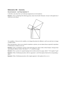 Mathematics 308 — Geometry
