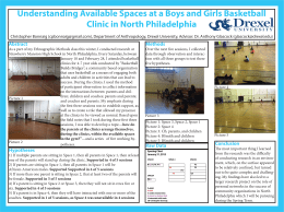 Understanding Available Spaces at a Boys and Girls Basketball