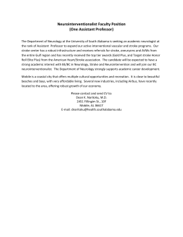 Neurointerventionalist Faculty Position (One Assistant Professor)
