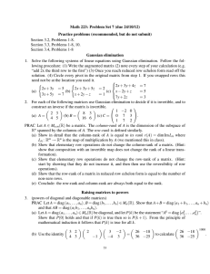 Math 223: Problem Set 7 (due 24/10/12) Section 3.2, Problems 1-8.