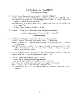 free Random Functions and Turbulence 1971