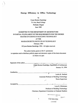 Energy  Efficiency  in  Office  Technology