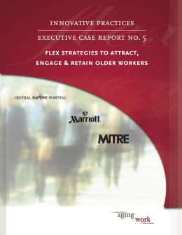 innovative practices executive case report no. 5 flex strategies to attract,