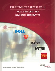 executive case report no. 4 age: a 21 century diversity imperative