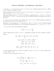 MATH 317 MIDTERM 1, OCTOBER 2011: SOLUTIONS = x + y